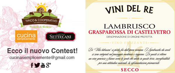Contest Lambrusco Gasparossa Settecani