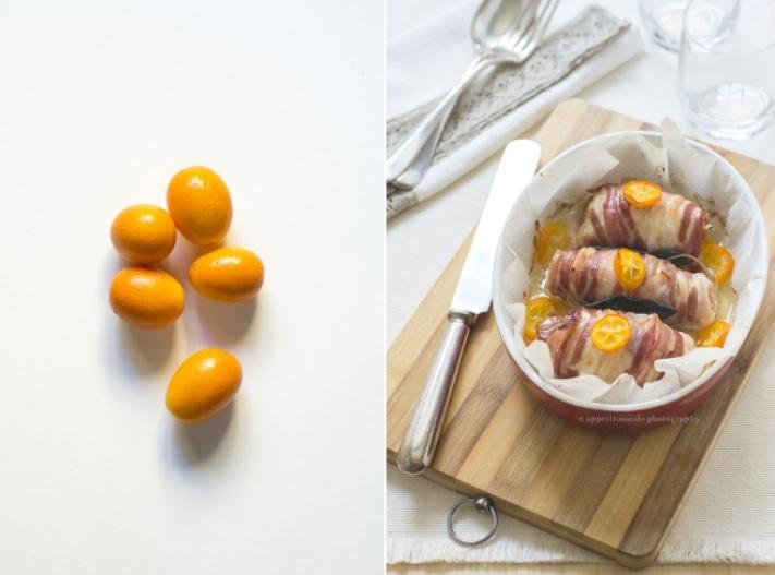 involtini tacchino kumquat pancetta