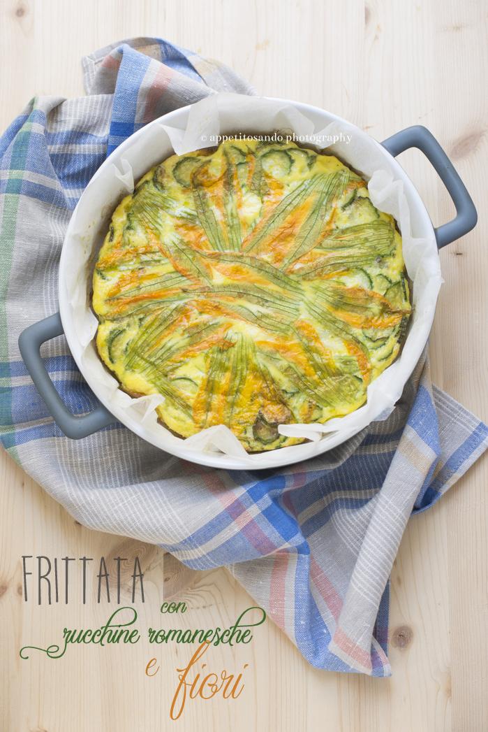 frittata di zucchine e fiori