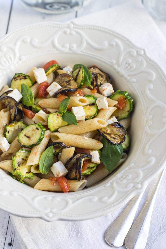 pasta fredda verdure grigliate