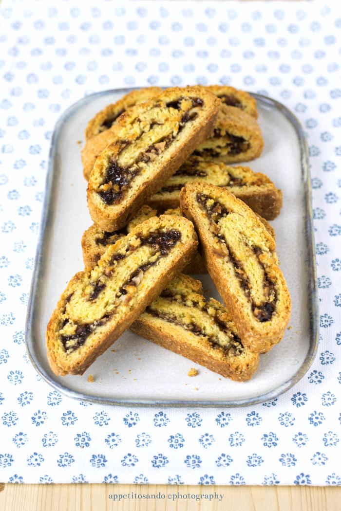 biscotti arrotolati